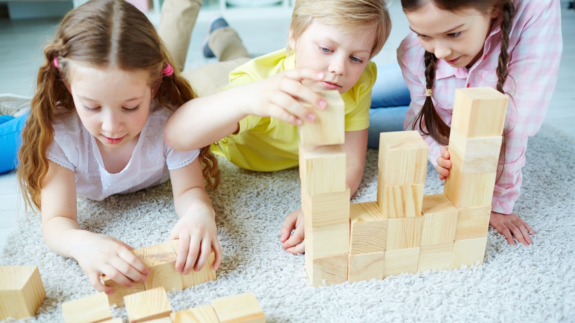 Toys to help promote language development in young children